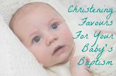 Christening Favours For Your Baby's Baptism