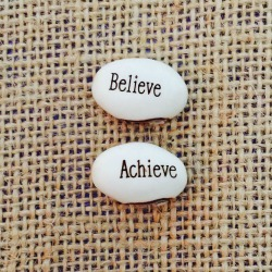 Believe achieve plant with words