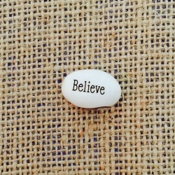 believe magic message bean plant
