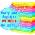 Kids Party Bags Without The Sugar