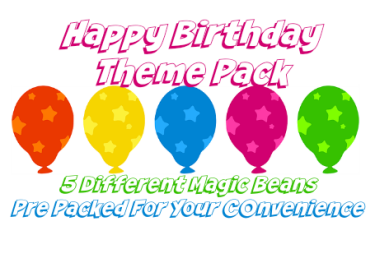 happy birthday theme pack