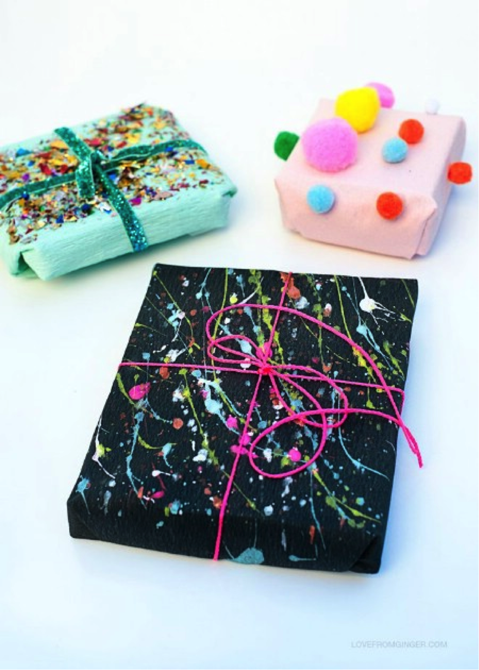 20 creative diy christmas gift wrapping ideas live love bean for Paper christmas gifts